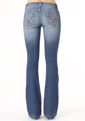 Paris Blues Thick-Stitch Bootcut Jean