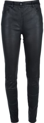 Alexander Wang skinny leather trouser