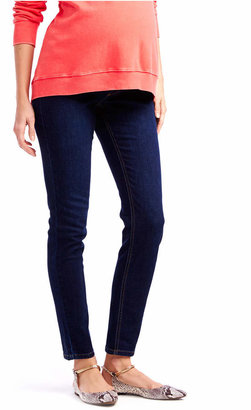Jessica Simpson Maternity Skinny Jeans, Dark Wash $49.98 thestylecure.com