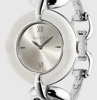 Gucci Bamboo Stainless Steel Watch