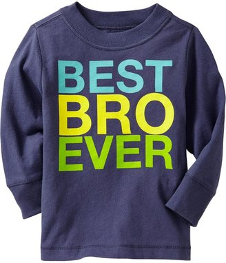 """Old Navy """"Best Bro Ever"""" Tees for Baby"""