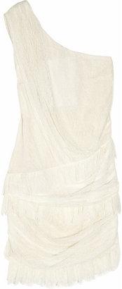Jay Ahr Lace one-shoulder dress