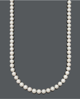 """Belle de Mer Aa 36"""" Cultured Freshwater Pearl Strand Necklace (9-1/2-10-1/2mm) in 14k Gold"""