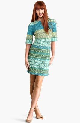 Donna Morgan Print Shift Dress