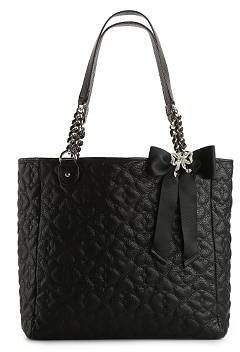 Betsey Johnson Quilted Love Tote