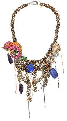 Katerina Psoma Chain and charm necklace