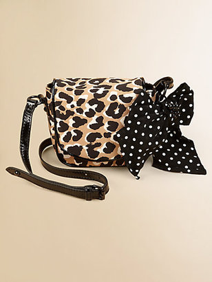 Juicy Couture Leopard Print Crossbody Bag