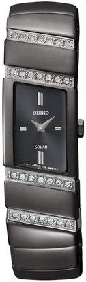 Seiko Solar 2-Hand with Swarovski® Crystals Women's watch