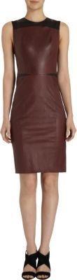 Narciso Rodriguez Jewel Neck Sleeveless Dress