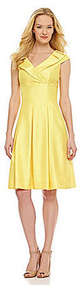 Tahari by Arthur S. Levine Tahari by ASL Shantung Sheath Dress