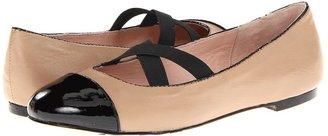 Taryn Rose Bice (Camel Soft Nappa Patent) - Footwear