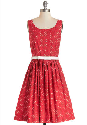 Bea Yuk Mui & Dot Love is in the Flair Dress