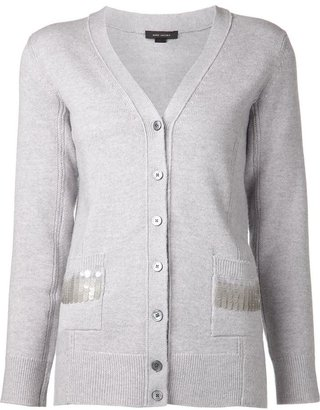 Marc Jacobs embellished pocket cardigan