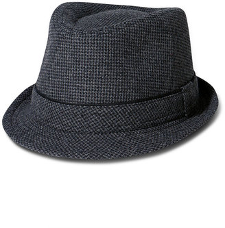American Rag Hat, Plaid Inside Fedora