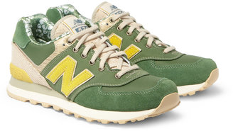 New Balance 574 Suede Sneakers