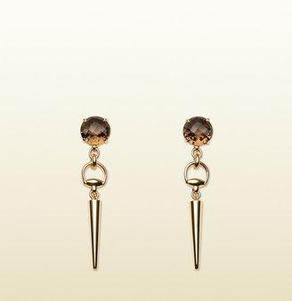 Gucci Horsebit Cocktail Earrings
