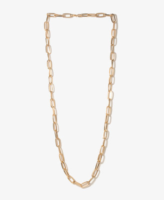 Forever 21 Long Oval Chain Necklace