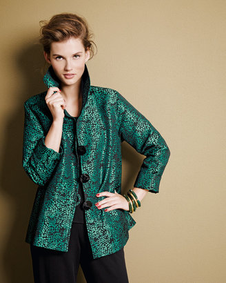 Caroline Rose Pebble Jacquard Jacket, Women's