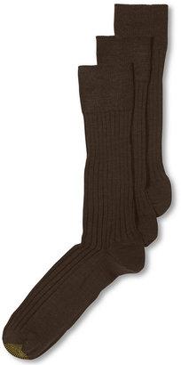 Gold Toe ADC Windsor Wool 3 Pack Dress Crew Men's Socks