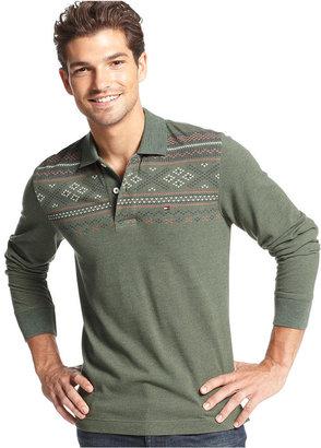 Tommy Hilfiger Shirt, Long Sleeve Slim Fit Nelis Polo Shirt