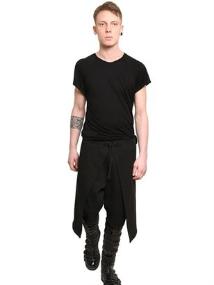 Gareth Pugh Double Jersey Long T-Shirt
