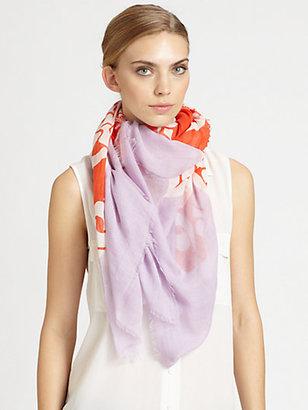 Diane von Furstenberg Hanovar Wool & Silk Scarf