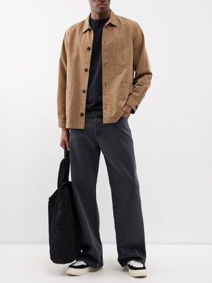 Sunspel Pima Cotton-jersey T-shirt - Black
