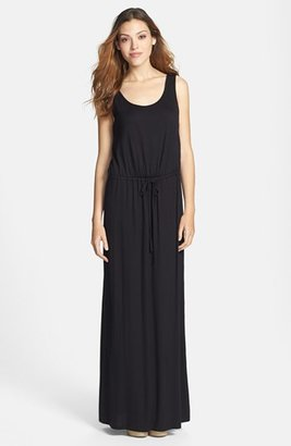 Women's Caslon Drawstring Waist Maxi Dress $69 thestylecure.com