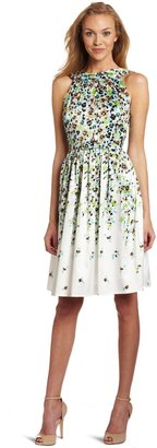 Jessica Howard Women's Belted Floral Dress