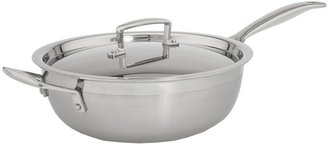 Le Creuset Tri-Ply 3.5 Qt. Covered Chef's Pan (Stainless Steel) - Home