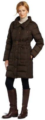 Tommy Hilfiger Women's Belted Down Coat