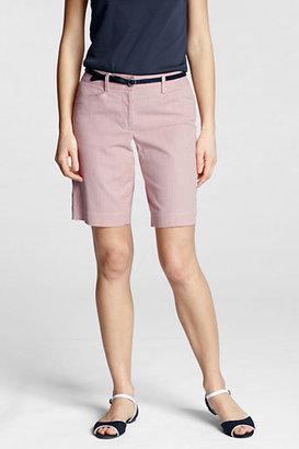 Lands' End Women's Regular Fit 2 10 Pincord Shorts