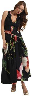 Vivienne Westwood Gladiator Maxi Dress (Black) - Apparel
