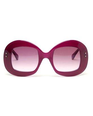 Oliver Goldsmith 'Uuksuu' Rounded Sunglasses