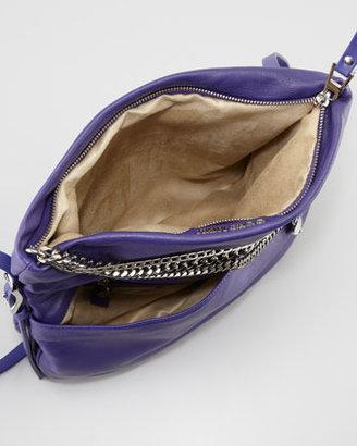 Jimmy Choo Biker Small Crossbody Bag, Purple