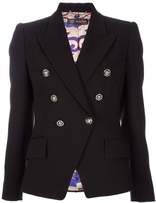Versace double breasted jacket