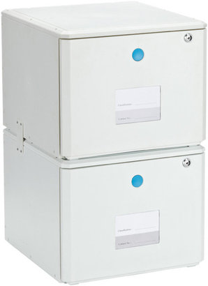 One Touch Stacking File Drawer