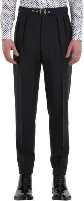 Saint Laurent Double Pleated Trousers