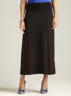Max Studio Petite Banded Maxi Skirt