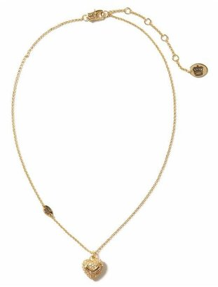 Juicy Couture Heart Wish Necklace