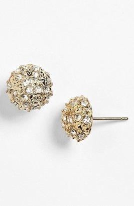 BP Rachel Rhinestone Dome Stud Earrings