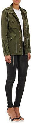 J Brand Women's 811 Mid-Rise Skinny Leather Pants