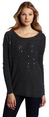 Velvet Women's Stalia Sequin Pullover Sweater