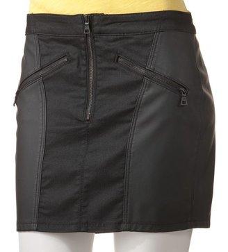 Rock & Republic Rock and republic mixed-media denim miniskirt