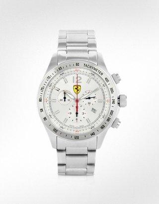 Ferrari Scuderia Stainless Steel Chrono Watch