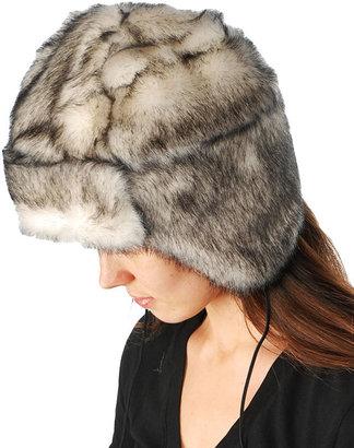Betsey Johnson Mink Trapper Hat