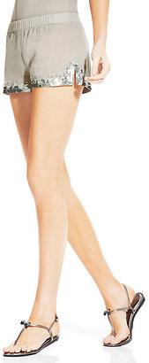 Vince Camuto Sequin Embellished Shorts