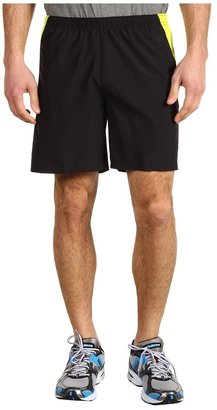 The North Face GTD Running Short 7 (TNF Black/Sulphur Spring Green) - Apparel