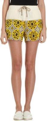 Sea Half Printed Shorts