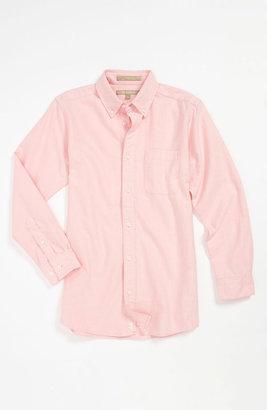 Nordstrom 'Michael' Woven Oxford Shirt (Little Boys)